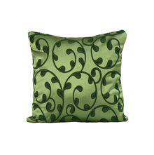 Scroll 40 cm x 40 cm Cushion Cover Set of 2, Green