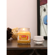 Indian Essence Jar Candle, Yellow