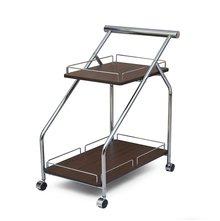 Serving Cart Ivan - @home Nilkamal,  dark walnut
