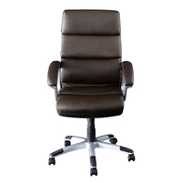 Nilkamal Ventura High Back Office Chair, Brown