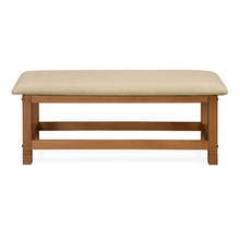 Roosey Dining Bench, Natural Walnut