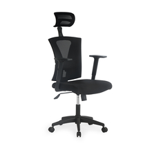 Nilkamal Centura High Back Office Chair, Black