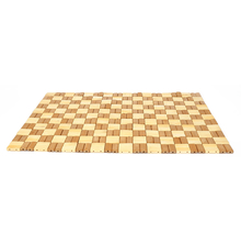 Checks 30cm x 44cm Bamboo Placemat - @home by Nilkamal, Beige Brown