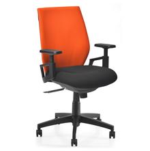 Nilkamal Steller MB Office Chair, Orange & Black