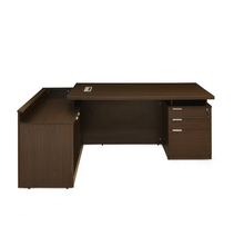 Nilkamal Elegant Executive Table, Walnut