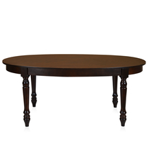 Isabella 6 Seater Dining Table - @home by Nilkamal, Walnut