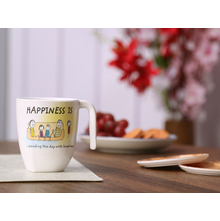 Happiness Radiant Day Large 250ML Mug, White