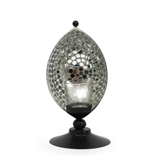 Mosaic Eye Candle Stand - @home by Nilkamal, Gold