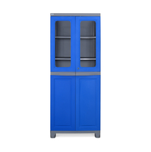 Nilkamal FB2 Freedom Cupboard - Deep Blue and Grey