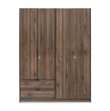 Avery 4 Door Wardrobe - @home by Nilkamal, Modi Wenge