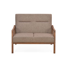 Colette 2 Seater Sofa, Brown