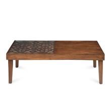 Lattice Center Table - @home by Nilkamal, Cherry
