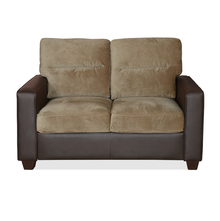 Fendi 2 Seater Sofa - @home by Nilkamal, Dark Brown
