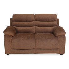 Perkins 2 Seater Sofa - @home by Nilkamal, Hazel Brown