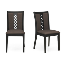 Corsica Dining Chair Set of 2 - @home by Nilkamal, Cappuccino