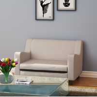 Gregory 2 Seater Sofa, Moshi Cream