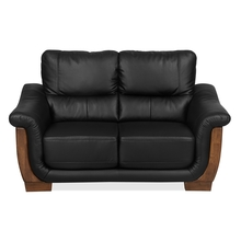 Brooks 2 Seater Sofa, Black