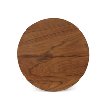 Polpat Wooden Round, Brown