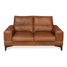 Willis 2 Seater Sofa, Tan Brown