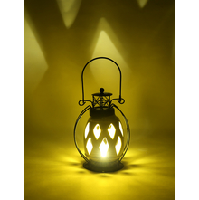 LED Hanging Lantern, Yellow