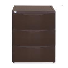 Nilkamal Chester Storage 3 Drawer Series - 43, Weather Brown