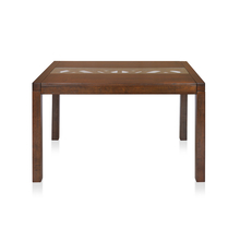 Nilkamal Dona 4 Seater Dining Table, Walnut