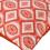 E Diamn 60 x 60 cm Cushion Cover Set of 2 - @home by Nilkamal, Maroon