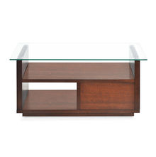 Lisa Center Table - @home By Nilkamal, Dark Walnut