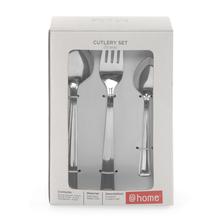 Crisp Cutlery Set 12Piece, Silver