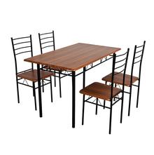 Nilkamal Texas 4 Seater Dining Set - Brown