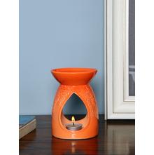 Dewdrop Oil Burner, Orange