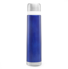 Bergner Stainless Steel 750 ml Vacuum Flask - Blue