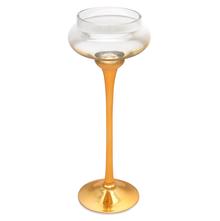 Empress Gold Vase - @home by Nilkamal, Clear
