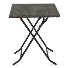 Jack Garden Table - @home by Nilkamal, Mocha Brown