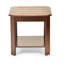 Cindy Side Table - @home by Nilkamal, Walnut