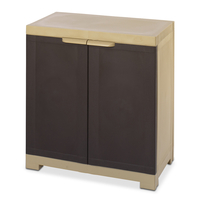 Freedom Mini Small Cabinet - @home by Nilkamal,  weather brown