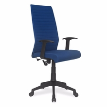 Nilkamal Thames High Back Fabric Office Chair, Blue