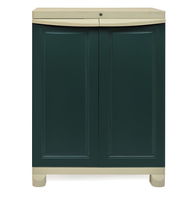 Nilkamal Freedom Storage Unit FS1, Pastle green / Olive green
