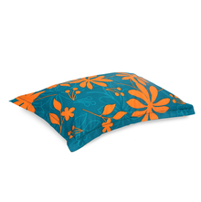 Dalliance Floral 45 cm x 68 cm Pillow Cover Set of 2 - @home by Nilkamal, Teal