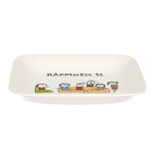 Happiness Modest 23CM Urmi Quater Plate, White
