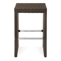Daniel Bar Stool - @home by Nilkamal, Mocha Brown