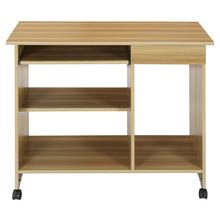 Nilkamal Spacio Computer Table - Teak