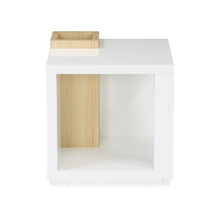 Fusion Side Table - @home by Nilkamal, White