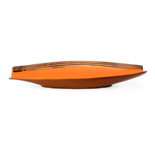 Boat Shape 37.5 cm x 12.7 cm x 5.8 cm Platter - @home by Nilkamal, Orange