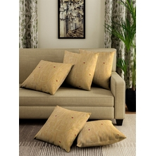 FOLIAGE CUSHION COVER SET OF 5, MULTI