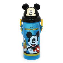 Micky Cap Kinds Sipper Bottle 400 Ml, Black