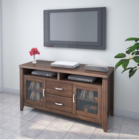 Jonas Low Height Wall Unit, Coffee
