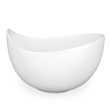 Imperial Ceramic 690 ml Snack Bowl - @home by Nilkamal, White