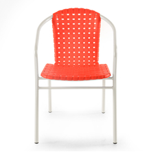 Nilkamal Vittorio Arm Chair - Red