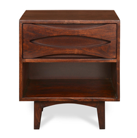 Moon Night Stand - @home by Nilkamal, Natural